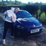 Henry passed his driving test